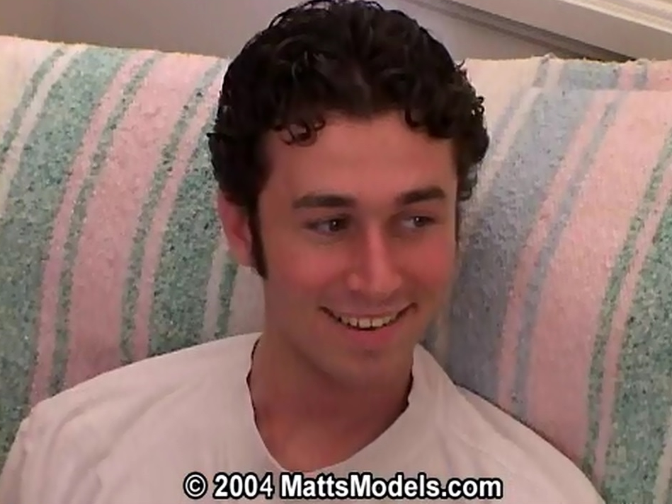 Porn Star James Deen waiting for his sex scene
